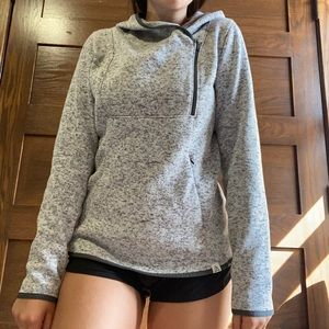 Alpine Cozy Grey Sweatshirt
